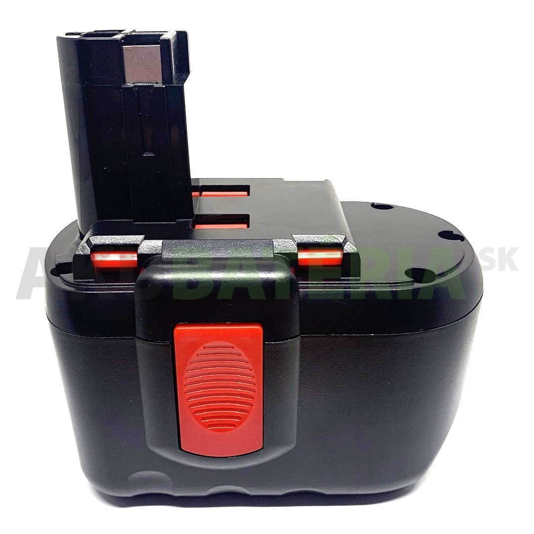 Batéria Bosch BAT240, BAT299, BAT030, BAT031 do 24V aku náradia. Batéria pre Bosch GSB24VE-2, GSB24VE-2, GSR24VE-2, GST24V, PSB24VE-2, SAW 24V s kapacitou 3.0Ah
