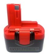 Batéria pre AKU 14.4V náradie Bosch typu BAT038, BAT040, BAT041, BAT140 pre Bosch 3660K,35614,34614,32614,PSR140,GSR14.4 s kapacitou 3.0Ah, Ni-Mh