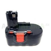 Batéria do 18V AKU náradia Bosch 13618, GSB 18VE-2, GDR 18V, GDS 18V, GSR 18V, GSR 18VE-2, PSR 18VE-2, PSB 18VE-2 s kapacitou 3.0Ah.