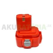Batéria do 9.6V aku náradia Makita 6791D,6221D,6791DW,6901D,ML901. Kompatibilná batéria 9100, 9101, 9102 s kapacitou 3.0Ah typu Ni-Mh.